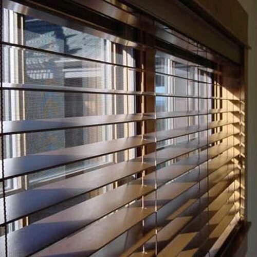 00353 Persiana Horizontal De Madeira Bamboo 50mm Com Band 244